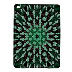 Abstract Green Patterned Wallpaper Background Ipad Air 2 Hardshell Cases