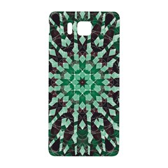 Abstract Green Patterned Wallpaper Background Samsung Galaxy Alpha Hardshell Back Case