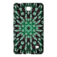 Abstract Green Patterned Wallpaper Background Samsung Galaxy Tab 4 (8 ) Hardshell Case