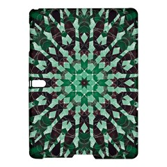 Abstract Green Patterned Wallpaper Background Samsung Galaxy Tab S (10 5 ) Hardshell Case