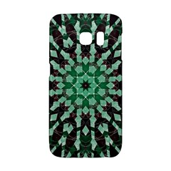 Abstract Green Patterned Wallpaper Background Galaxy S6 Edge
