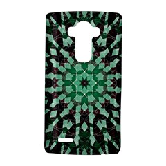 Abstract Green Patterned Wallpaper Background LG G4 Hardshell Case