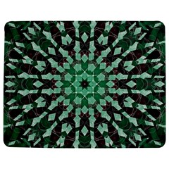 Abstract Green Patterned Wallpaper Background Jigsaw Puzzle Photo Stand (Rectangular)