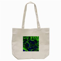 Abstract Green And Blue Background Tote Bag (cream)
