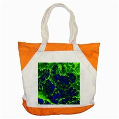 Abstract Green And Blue Background Accent Tote Bag