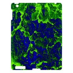 Abstract Green And Blue Background Apple Ipad 3/4 Hardshell Case