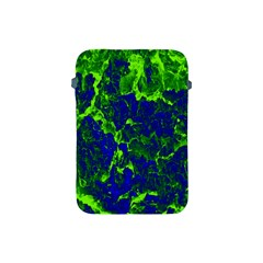 Abstract Green And Blue Background Apple Ipad Mini Protective Soft Cases