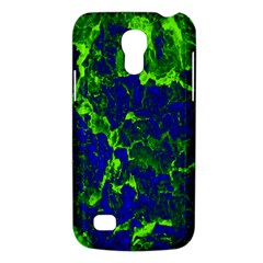 Abstract Green And Blue Background Galaxy S4 Mini
