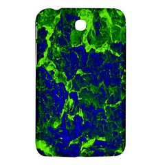 Abstract Green And Blue Background Samsung Galaxy Tab 3 (7 ) P3200 Hardshell Case