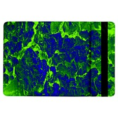 Abstract Green And Blue Background Ipad Air Flip