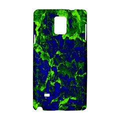 Abstract Green And Blue Background Samsung Galaxy Note 4 Hardshell Case