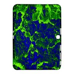 Abstract Green And Blue Background Samsung Galaxy Tab 4 (10.1 ) Hardshell Case