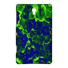 Abstract Green And Blue Background Samsung Galaxy Tab S (8.4 ) Hardshell Case