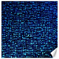 Blue Box Background Pattern Canvas 20  x 20