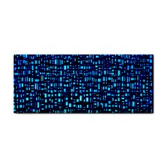 Blue Box Background Pattern Cosmetic Storage Cases