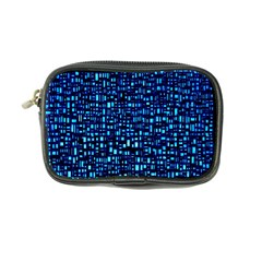 Blue Box Background Pattern Coin Purse