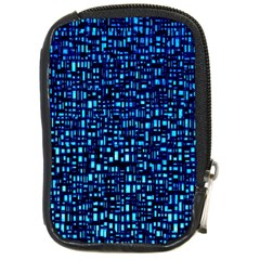 Blue Box Background Pattern Compact Camera Cases
