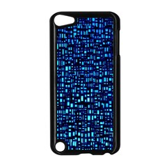 Blue Box Background Pattern Apple Ipod Touch 5 Case (black)