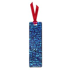 Blue Box Background Pattern Small Book Marks
