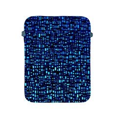 Blue Box Background Pattern Apple Ipad 2/3/4 Protective Soft Cases