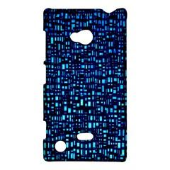Blue Box Background Pattern Nokia Lumia 720