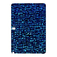 Blue Box Background Pattern Samsung Galaxy Tab Pro 12 2 Hardshell Case