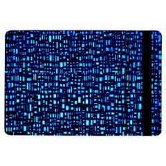 Blue Box Background Pattern Ipad Air Flip