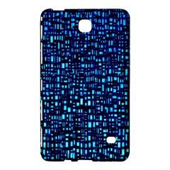 Blue Box Background Pattern Samsung Galaxy Tab 4 (7 ) Hardshell Case