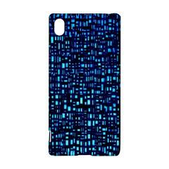 Blue Box Background Pattern Sony Xperia Z3+
