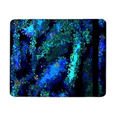 Underwater Abstract Seamless Pattern Of Blues And Elongated Shapes Samsung Galaxy Tab Pro 8 4  Flip Case