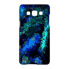 Underwater Abstract Seamless Pattern Of Blues And Elongated Shapes Samsung Galaxy A5 Hardshell Case