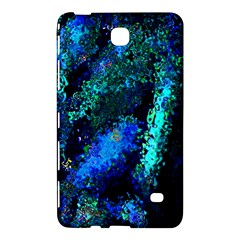 Underwater Abstract Seamless Pattern Of Blues And Elongated Shapes Samsung Galaxy Tab 4 (8 ) Hardshell Case