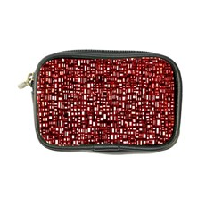 Red Box Background Pattern Coin Purse