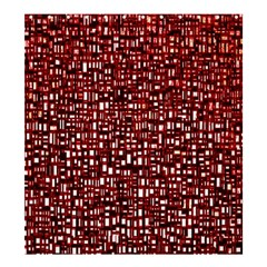 Red Box Background Pattern Shower Curtain 66  X 72  (large)