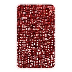 Red Box Background Pattern Memory Card Reader