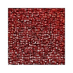 Red Box Background Pattern Acrylic Tangram Puzzle (6  X 6 )