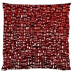 Red Box Background Pattern Large Cushion Case (One Side)