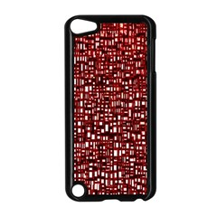 Red Box Background Pattern Apple iPod Touch 5 Case (Black)