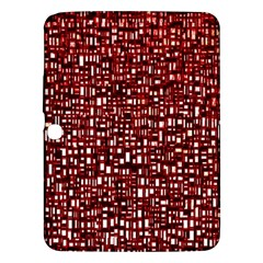 Red Box Background Pattern Samsung Galaxy Tab 3 (10 1 ) P5200 Hardshell Case