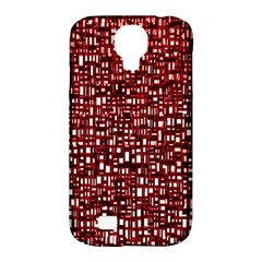 Red Box Background Pattern Samsung Galaxy S4 Classic Hardshell Case (PC+Silicone)