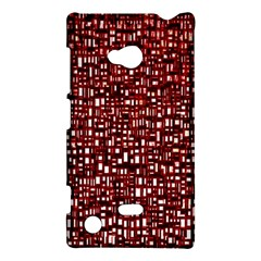 Red Box Background Pattern Nokia Lumia 720