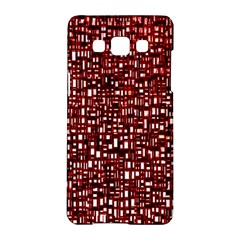 Red Box Background Pattern Samsung Galaxy A5 Hardshell Case