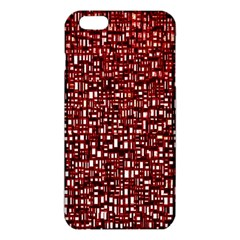 Red Box Background Pattern Iphone 6 Plus/6s Plus Tpu Case
