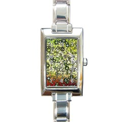 Chaos Background Other Abstract And Chaotic Patterns Rectangle Italian Charm Watch