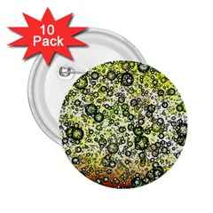 Chaos Background Other Abstract And Chaotic Patterns 2 25  Buttons (10 Pack)