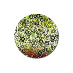 Chaos Background Other Abstract And Chaotic Patterns Magnet 3  (Round)