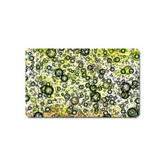 Chaos Background Other Abstract And Chaotic Patterns Magnet (name Card)