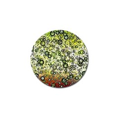 Chaos Background Other Abstract And Chaotic Patterns Golf Ball Marker (4 Pack)