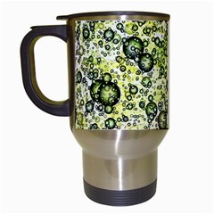 Chaos Background Other Abstract And Chaotic Patterns Travel Mugs (white)