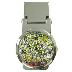 Chaos Background Other Abstract And Chaotic Patterns Money Clip Watches